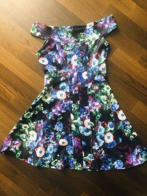 Asos Petite Mini Dress multicolored