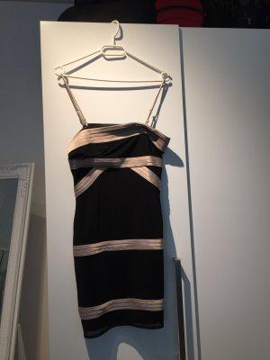 Asos Robe de soirée noir-crème