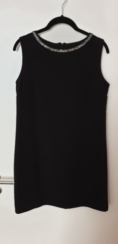 Angela Davis A Line Dress black viscose