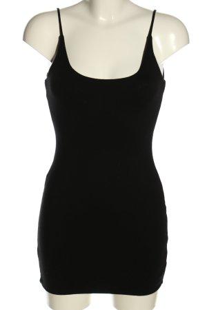 DASH Długi top czarny W stylu casual