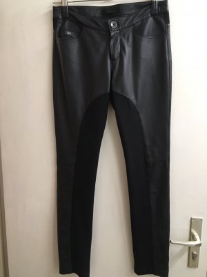 daughters of eve Leather Trousers black leather