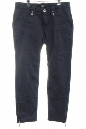 daughters of eve Stretch Trousers blue casual look