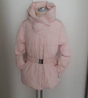 Alba Moda Abrigo de plumón rosa empolvado