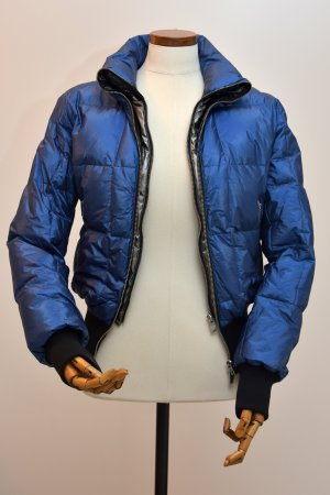 Daunen Jacke blau  - metallic - HOGAN