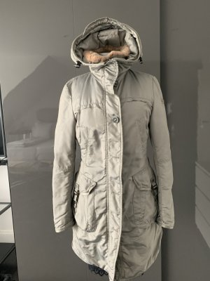 Peuterey Down Coat silver-colored