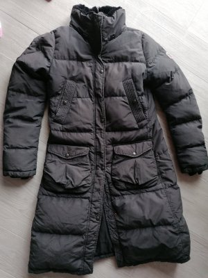 Ralph Lauren Down Coat dark blue mixture fibre