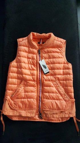 marc cain sports Piumino smanicato arancione chiaro