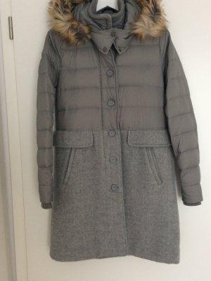 Cappotto invernale argento Lana