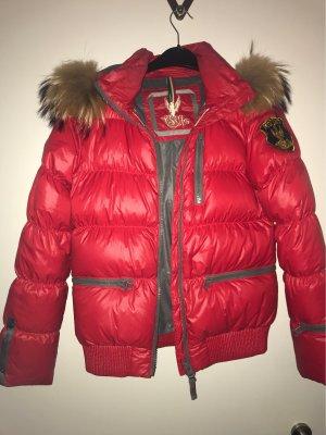 Eleven Elfs Down Jacket red grey