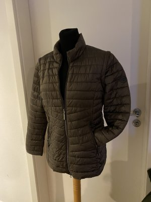 Green Goose Down Jacket bronze-colored