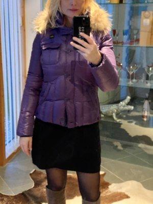 Blauer Doudoune violet foncé