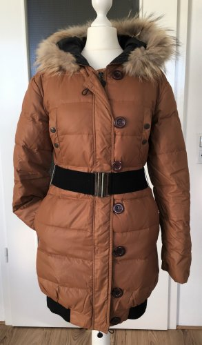 Down Coat multicolored polyester