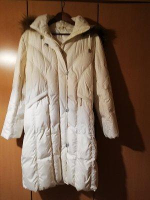 Daunenjacke, Daunenmantel von LEBEK, Gr. 42, weiß