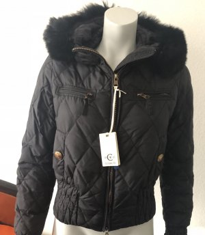 cerruti 1881 Down Jacket black polyamide