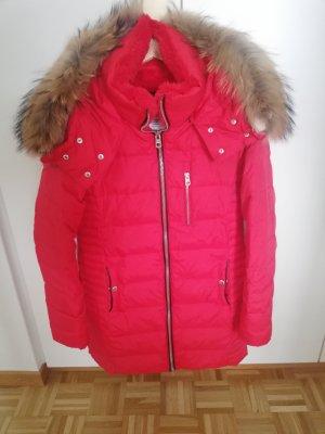 Pull & Bear Kurtka zimowa czerwony
