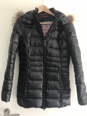 Frieda & Freddies New York Down Jacket black pelt