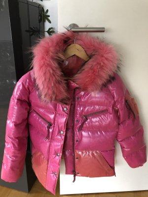 Jet Set Down Jacket pink polyester