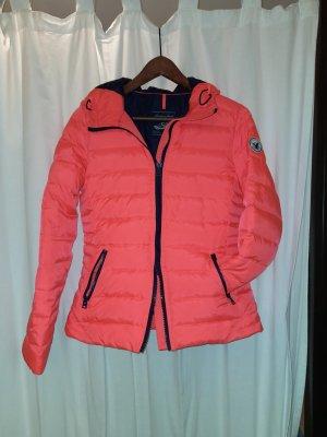 American Eagle Outfitters Chaqueta de plumón naranja neón-rojo claro