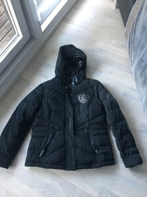 Double Jacket black polyester
