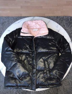 Nakd Piumino nero-rosa chiaro