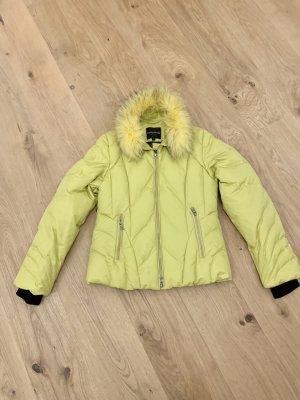 Creenstone Parka lime yellow polyamide