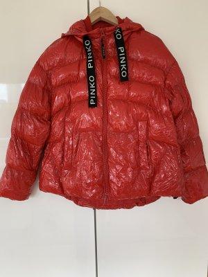 Pinko Płaszcz puchowy czerwony