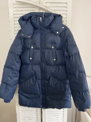 Replay Down Jacket dark blue