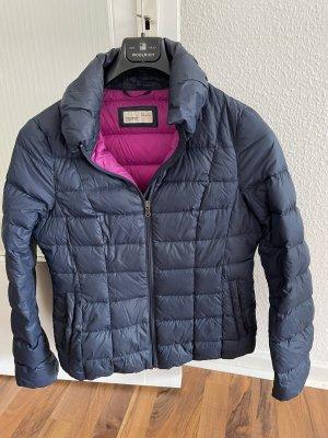 Daunenjacke Steppjacke Esprit L 40 blau pink