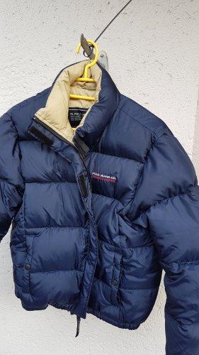 Polo Jeans Co. Ralph Lauren Doudoune bleu foncé tissu mixte
