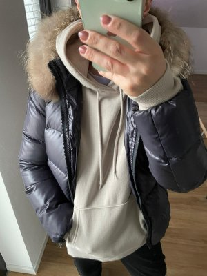 Bomboogie Down Jacket grey lilac