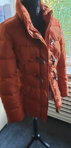 Down Jacket dark orange