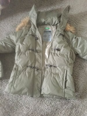 Benetton Down Jacket khaki