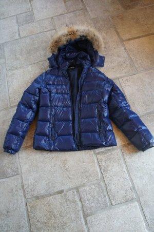 Daunenjacke Winterjacke dunkelblau Lawrence Grey Größe 38