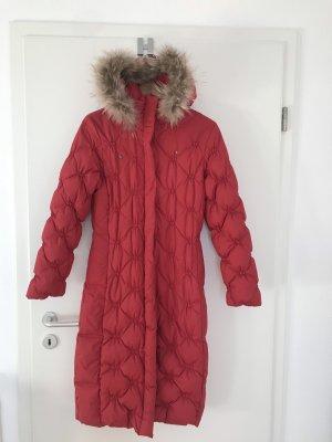 Greenland Manteau en duvet rouge brique