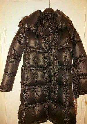 Esprit Manteau en duvet noir-argenté