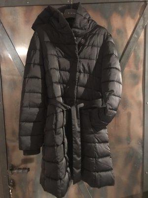 Sisley Cappotto trapuntato nero