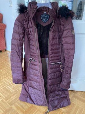 Northland Abrigo de plumón rojo zarzamora Poliéster