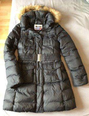 Blauer Down Coat anthracite-black
