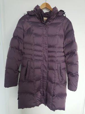 Maul Manteau en duvet violet foncé