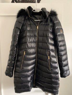 Calvin Klein Abrigo de plumón negro-color oro