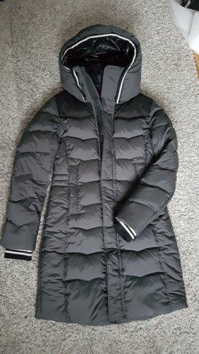 Daunenmantel Daunenjacke Mantel G-Star schwarz grau Größe S