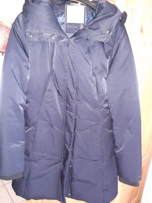 Hugo Boss Manteau en duvet bleu foncé