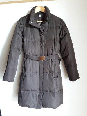 Apart Manteau en duvet brun foncé