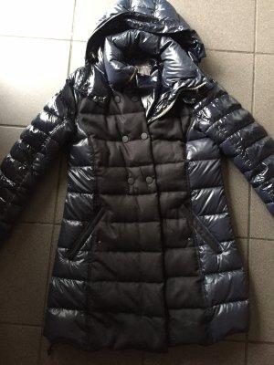 Duvetica Abrigo acolchado negro-azul oscuro