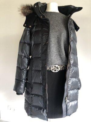 Handstich Down Coat slate-gray