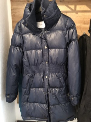 Only Quilted Coat dark blue