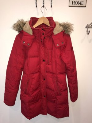 Esprit Down Coat brick red