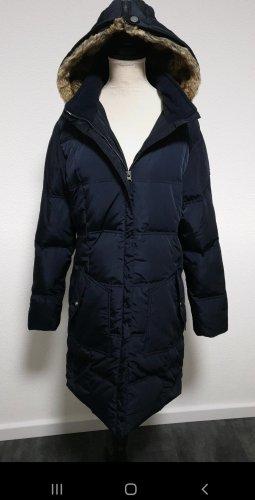 Tom Tailor Abrigo de plumón azul oscuro