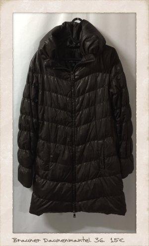 Amisu Down Coat dark brown