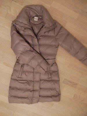Kiomi Down Coat grey brown nylon